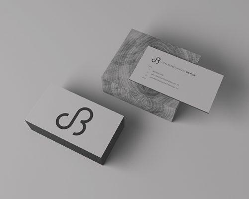 Huisstijl visitekaartje